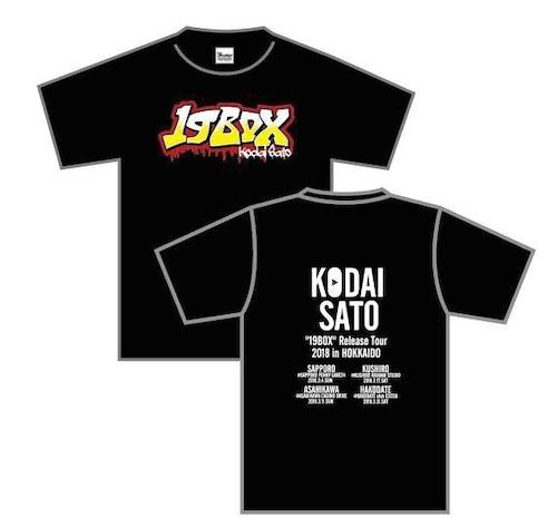 """""""19BOX""""ツアーTシャツ"""