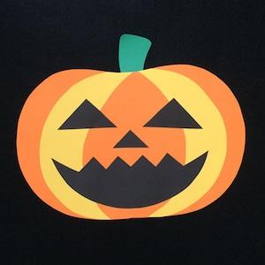 ハロウィンのかぼちゃ(大)の壁面装飾
