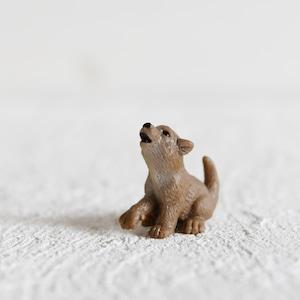 【レイアウト用】フィギュア 仔オオカミ