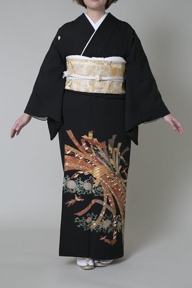 【レンタル】黒留袖 TAM-2(Mサイズ)
