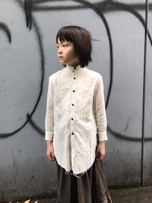 GRIS 20AW Cut Off Shirts Sサイズ (natural) GR20AW-SH008