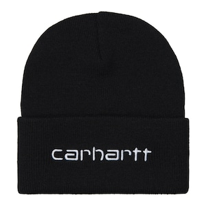 Carhartt (カーハート)SCRIPT BEANIE - Black / White