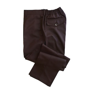 COLONY CLOTHING / ONE PLEAT WOOL RIP STOP TROUSERS  / CC21-PT01-5
