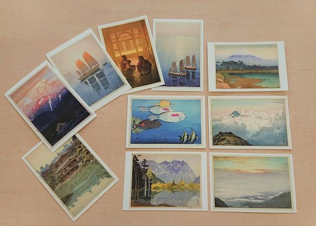 没後70年 吉田博展 ポストカード10枚セット