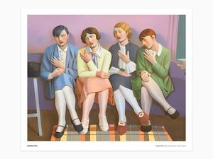 Chen Ke - Bauhaus Gal no.12, 2021 (signed poster)