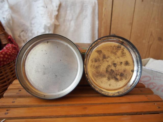 イギリスアンティーク アラジンの缶
