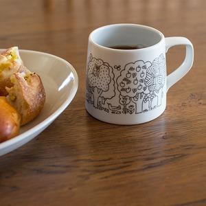 持ちやすくて軽いマグカップ Mori Mug