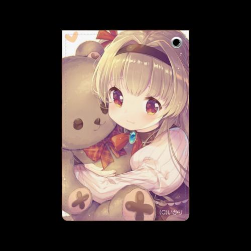 オリジナルパスケース【恋するテディベア】 / いかり