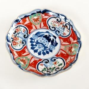 〈再入荷〉最終入荷【310016】伊万里 赤絵中皿 明治/ Imari M size Plate/ Meiji