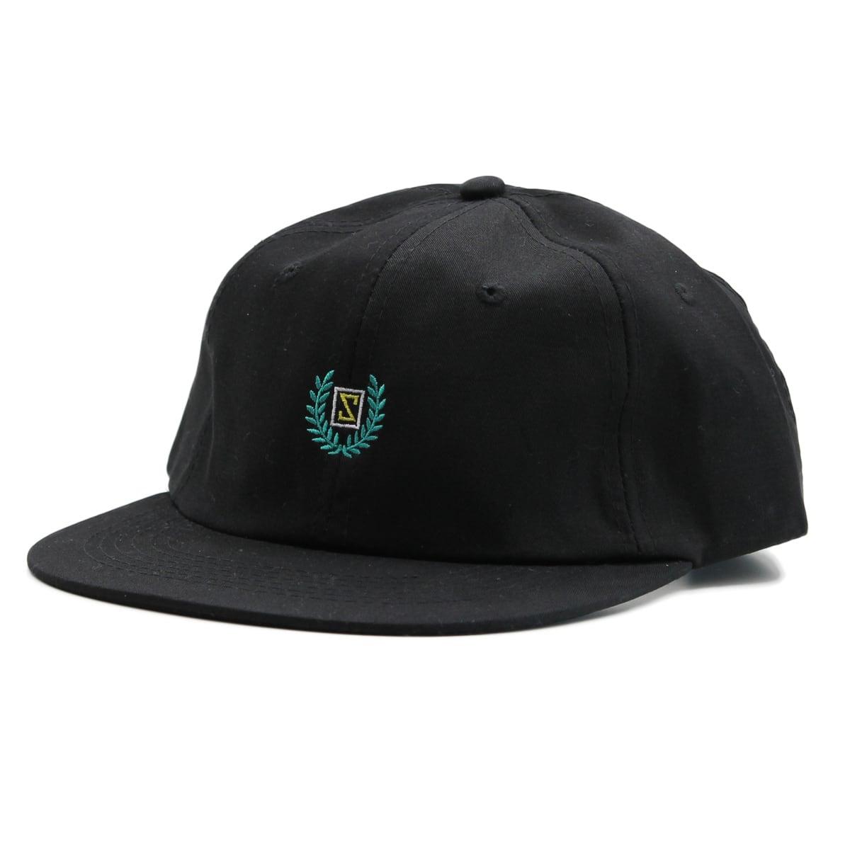 LAUREL STRAPBACK CAP #BLACK