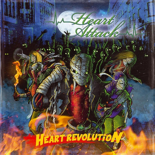 "HEART ATTACK ""Heart Revolution"" (輸入盤)"
