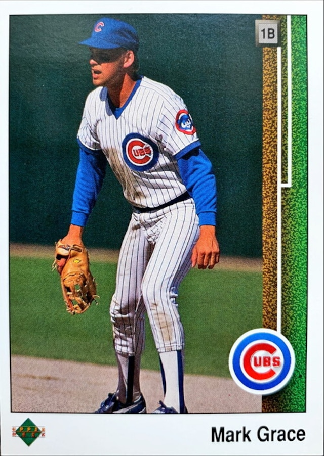 MLBカード 89UPPERDECK Mark Grace #140 CUBS