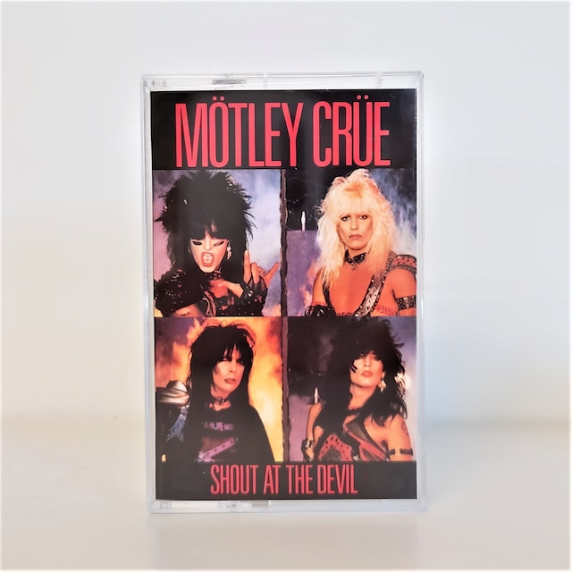 [中古カセット]  Mötley Crüe – Shout At The Devil