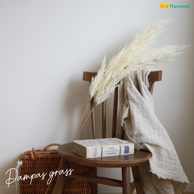 【送料無料】パンパスグラス ホワイト アイボリー フェイクグリーン 造花 フォトブース 誕生日 飾り付け ナチュラル ボタニカル