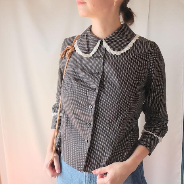 Autumn clothing 2: polka dot blouse