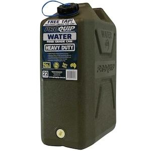 Pro Quip  プロクイップ社製 樹脂製水用ジェリカン22L&専用スパナ付 (飲料水使用不可)#JC2・0811B