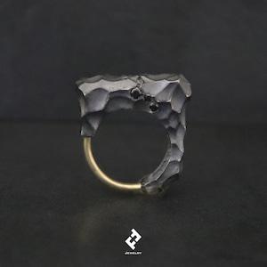 +romvlvs・ring (black)