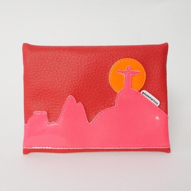 ジルソン・マルチンス TRIP LANDSCAPE MINI トリップランドスケープ ミニ 赤・蛍光ピンク・蛍光オレンジ