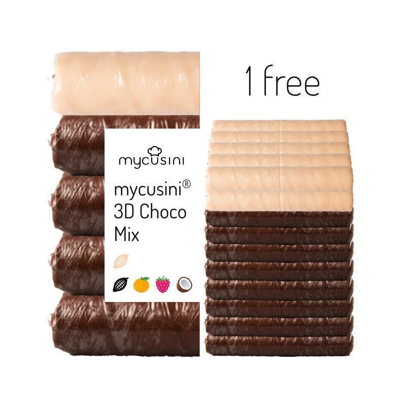 mycusini 3Dチョコ フレーバーミックス 10パック