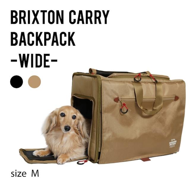 BRIXTON CARRY BACKPACK −WIDE−(M)ブリクストンキャリーバックパック ワイド Mサイズ