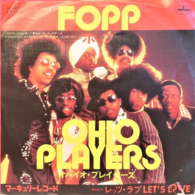 [中古7inch] Ohio Players – Fopp
