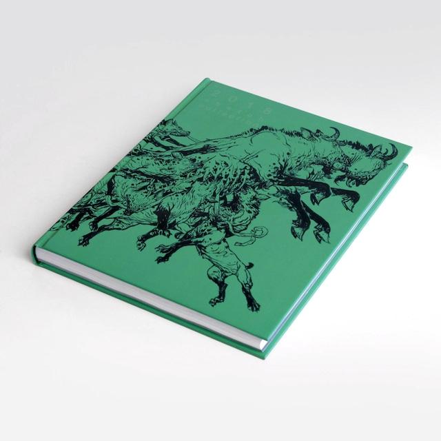 アートブック「2018 Sketch Collection」イラストレーター金政基(キム・ジョンギ、Kim Jung Gi)