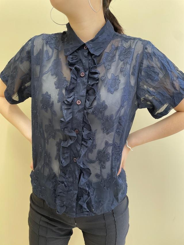 see-through blouse / 7SSTP28-06