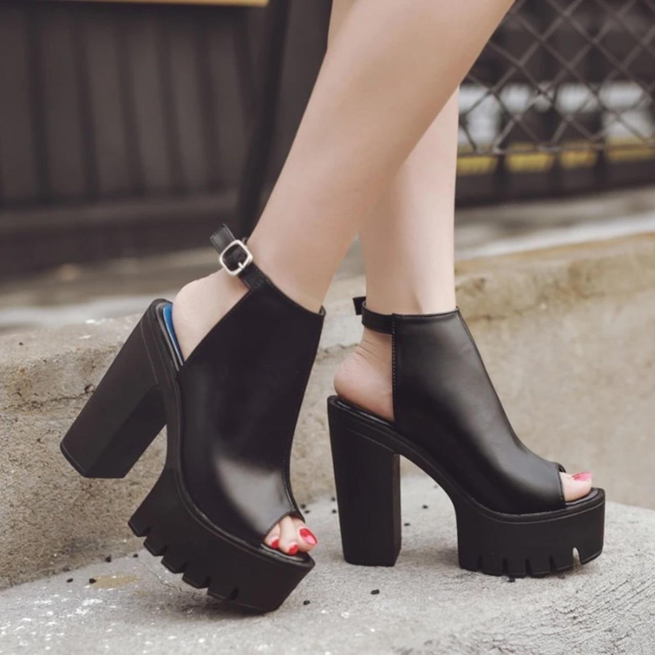 【即納】slingbacks summer shoes