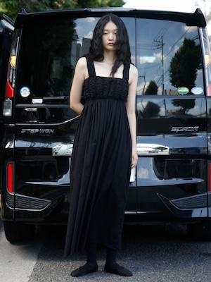 【New】ALBA CAMI DRESS - BLACK