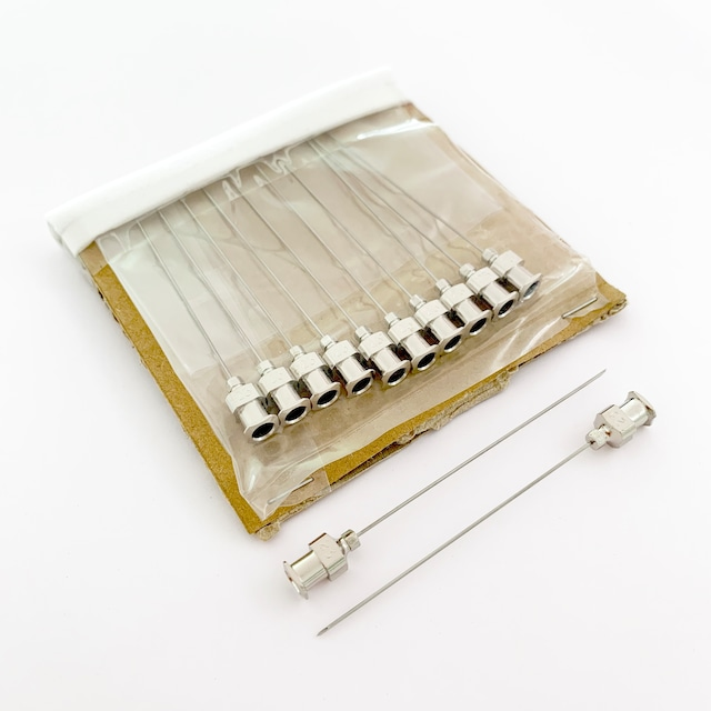 【工業・実験/研究用】 VAN金属針 カテラン針 1/2 12本入(医療機器・医薬品ではありません)