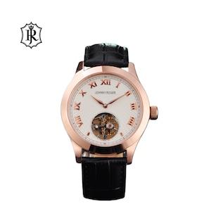 JOHNNYROGER メンズ 腕時計 フライングトゥールビヨン Tourbillon Chevalier