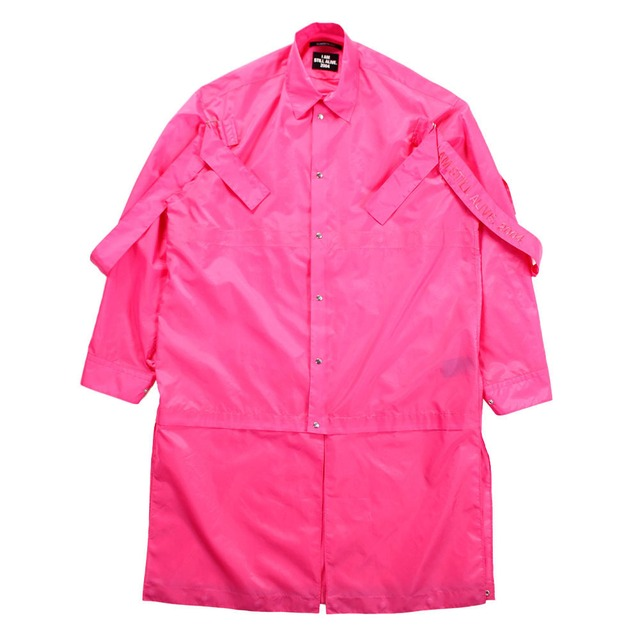 ALMOSTBLACK Nylon Shirt Pink