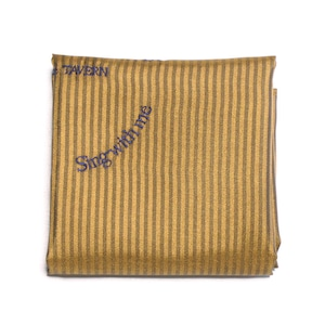 Pocket chief -Camel stripe