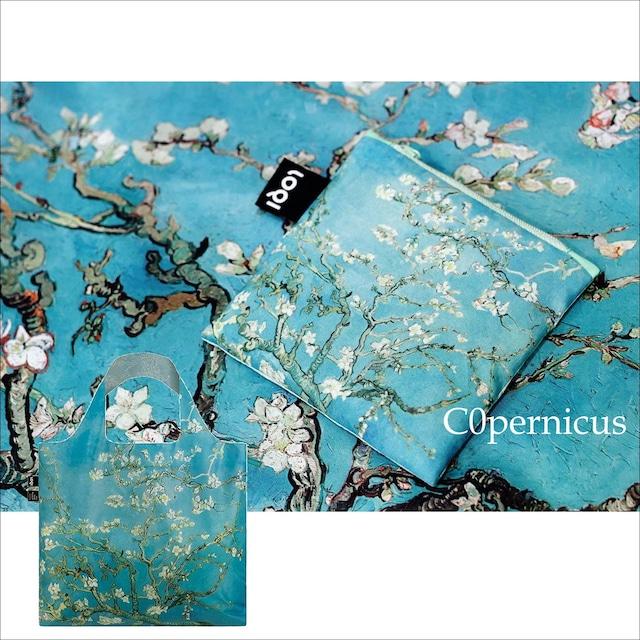 ゴッホ【花咲くアーモンドの木の枝】エコバック 浜松雑貨屋C0pernicus
