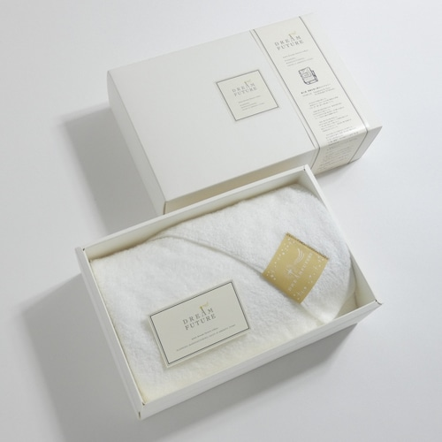 無撚糸(むねんし)高級Bath Towel 1枚SET Star White(純白のやすらぎ)