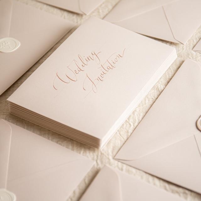 コットンカラー封筒 ピンクベージュ(洋1)| 10枚