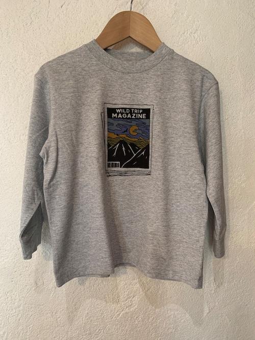 KIDS:ocean&ground:マウンテンプリントTシャツ 150.160㎝