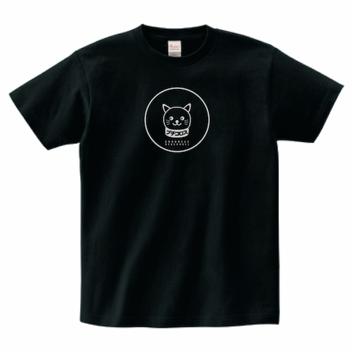 ブチコロス黒Tシャツ(猫っぽい)【送料無料】