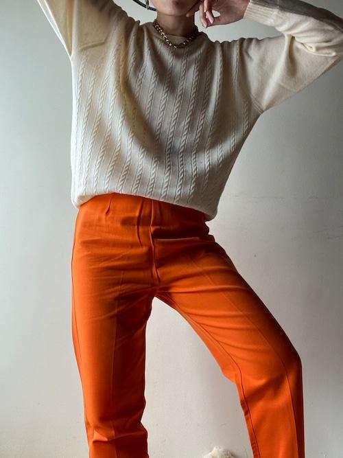 Vintage Orange Pants