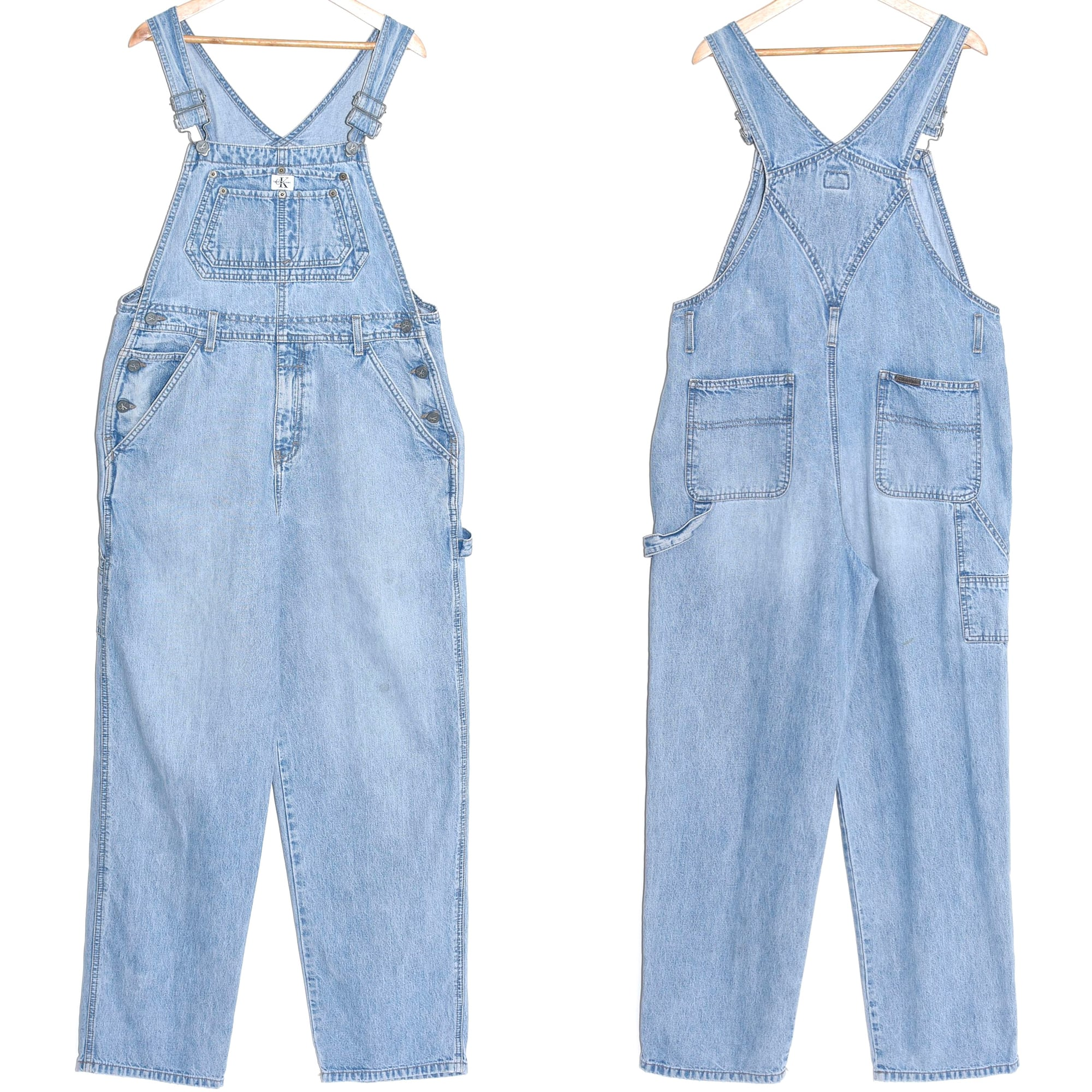 90's Calvin Klein denim overall Made in USA