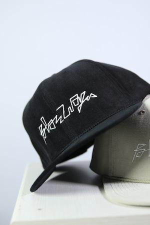 BLAZZ ELECTRONICS CORDUROY CAP [BLACK]