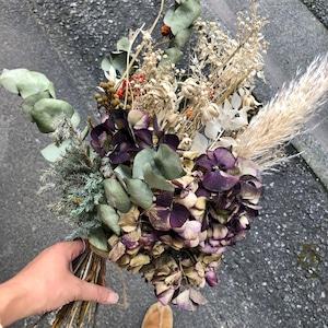 Dryflower bouquet スワッグ アジサイ