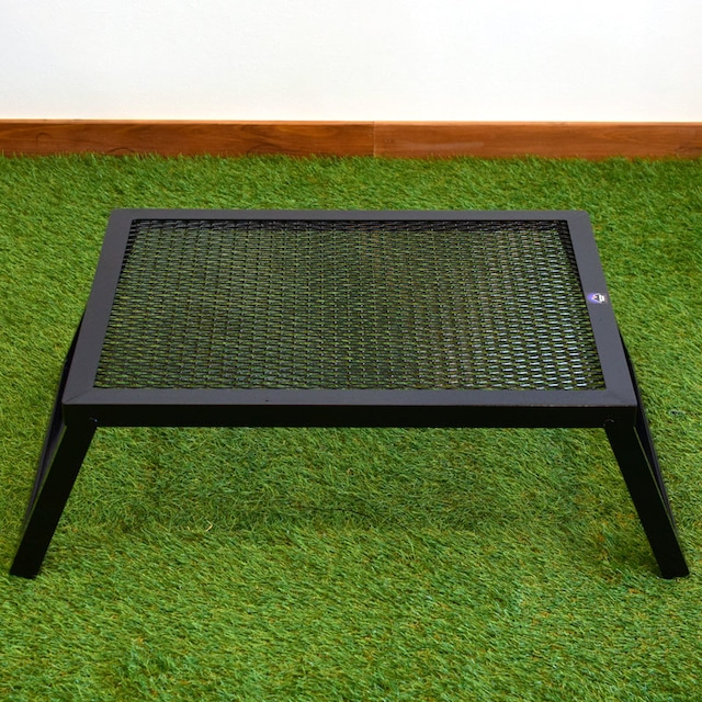 CAMP MANIA PRODUCTS(キャンプマニアプロダクツ)LO GRILL STAND(M)