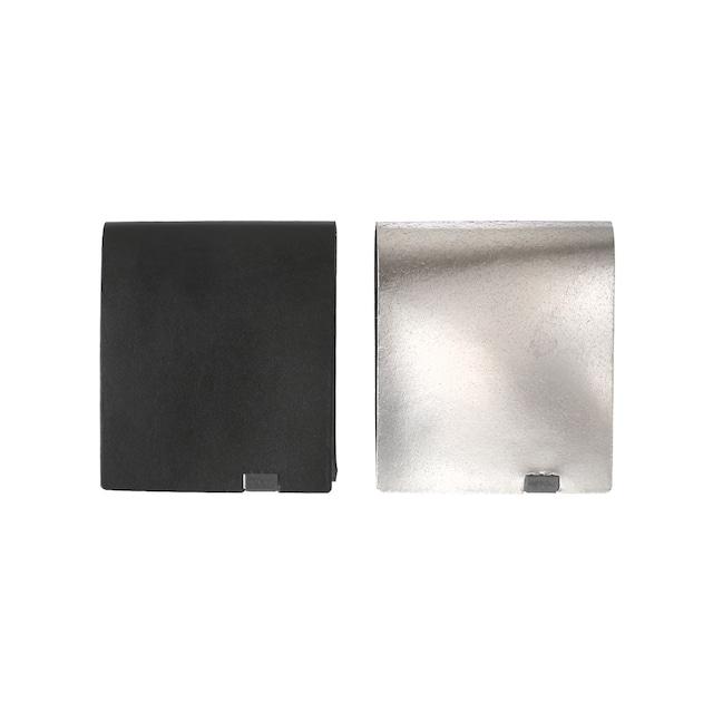 ボレロ ショートウォレット2.0 ブラック×シルバー&シルバー×ブラック