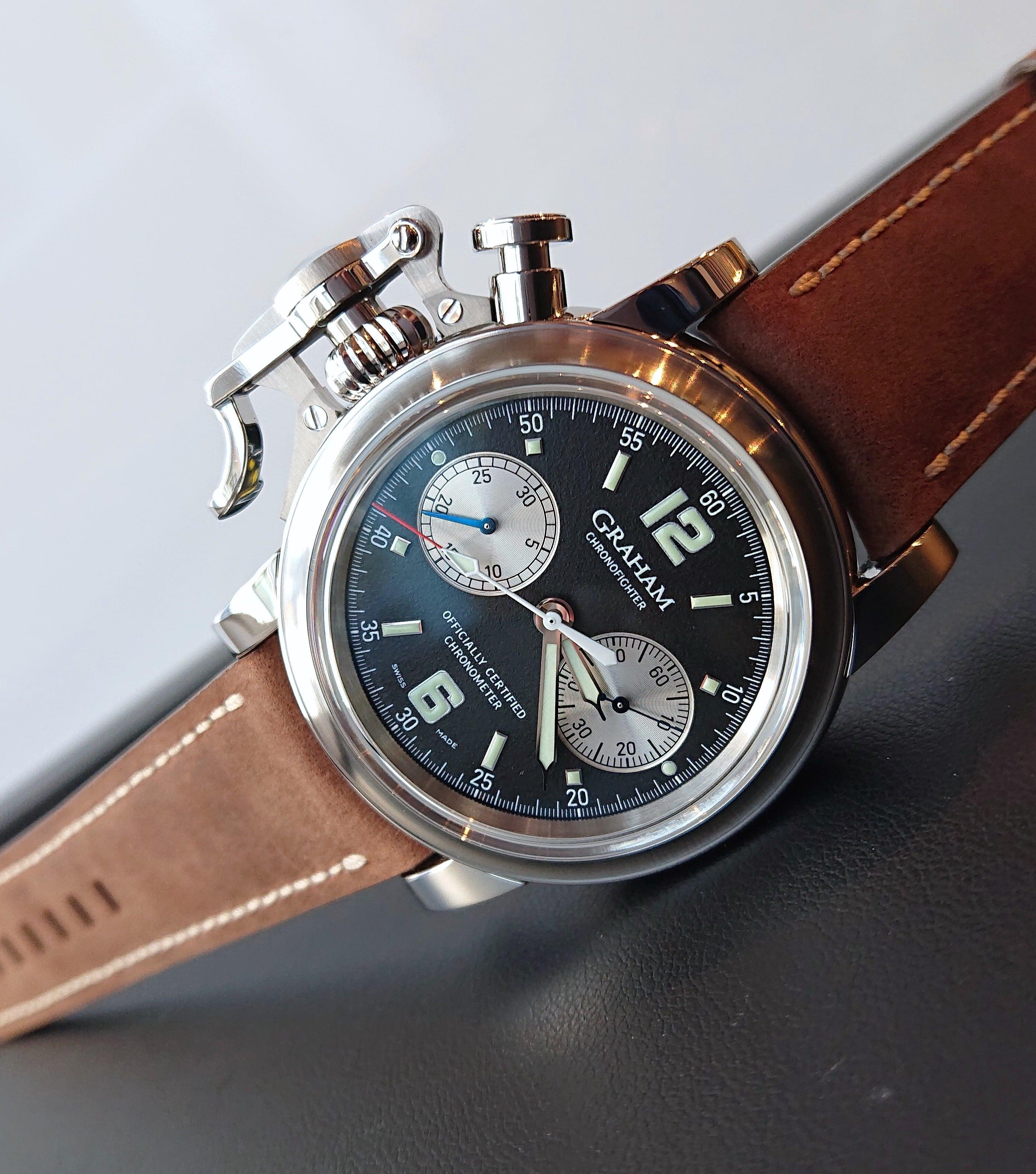 【GRAHAM グラハム】世界限定25本 Chronofighter Vintage 25th Anniversary クロノファイターヴィンテージ 25周年記念モデル/国内正規品 腕時計