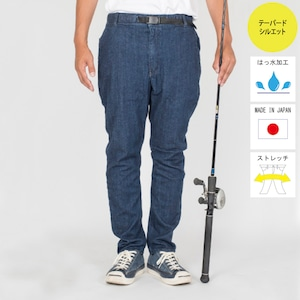 """""""The Fishing Together""""  STRETCH DENIM EASY PANTS  BW-301VM"""