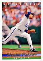 MLBカード 93UPPERDECK Hipolito Pichardo #072 ROYALS