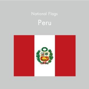 国旗ステッカー ペルー