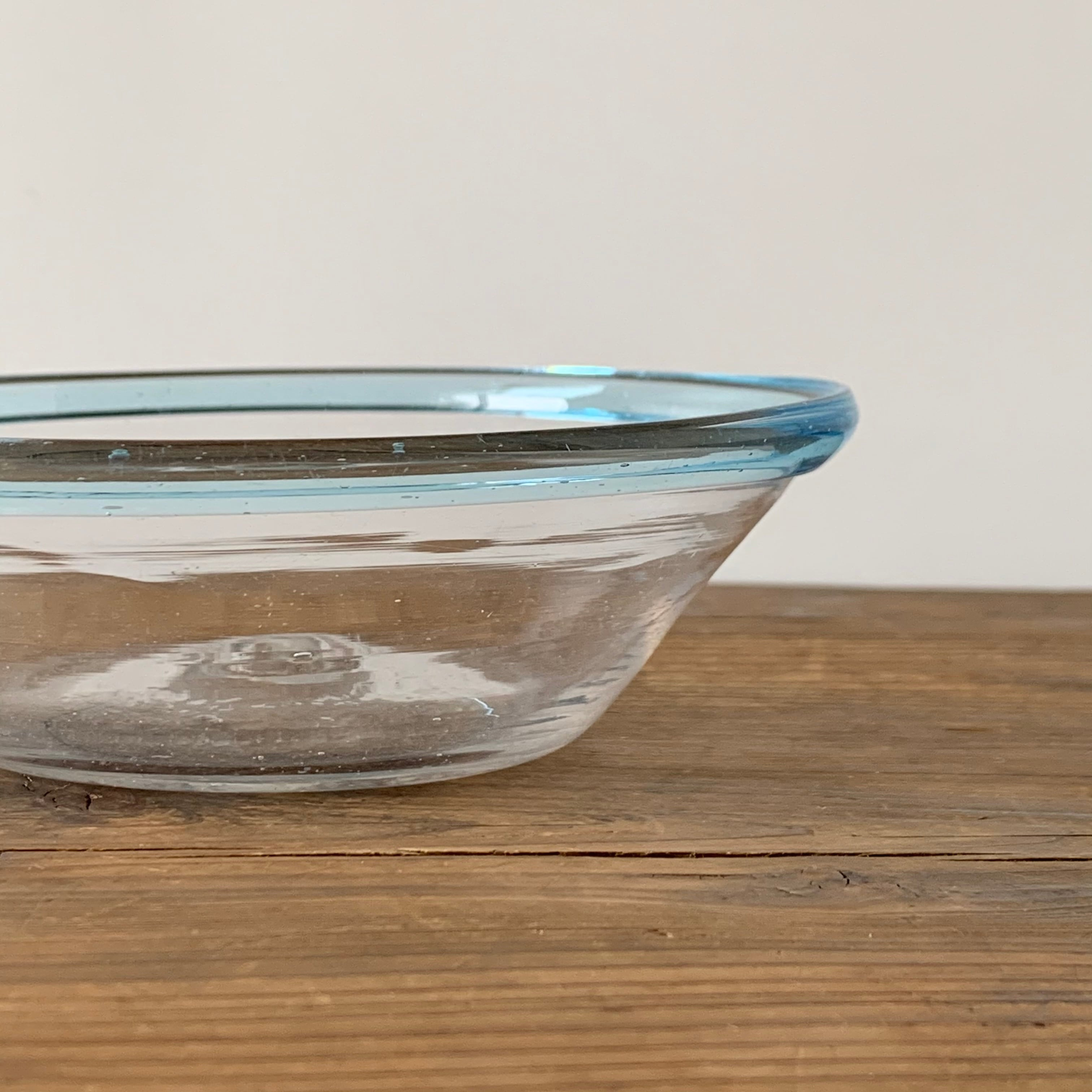 Glass Bowl / sky blue[B]