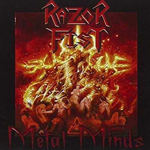 """RAZOR FIST """"Metal Minds"""" (輸入盤)"""
